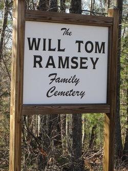 Will Tom Ramsey Family Cemetery