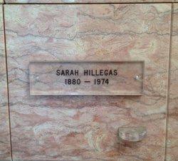 Sarah A Sadie <i>Hatch</i> Hillegas
