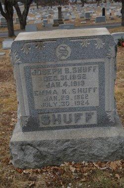 Emma Katherine Kate <i>Herr</i> Shuff
