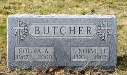 Goldia Agnes <i>Cane</i> Butcher