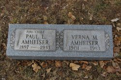 Verna May <i>Merritts</i> Amheiser