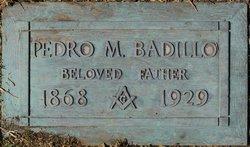 Pedro M Badillo