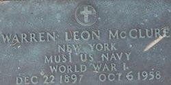 Warren Leon Shoo McClure, Sr
