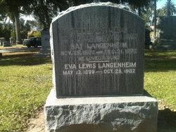 Eva <i>Lewis</i> Langenheim