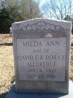 Milda Ann Alldredge