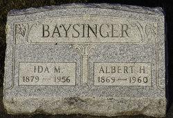 Albert H Baysinger