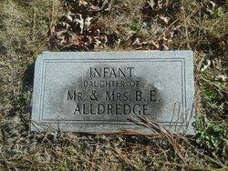 Infant Daughter Alldredge