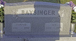 Connie Marie <i>Robinson</i> Baysinger