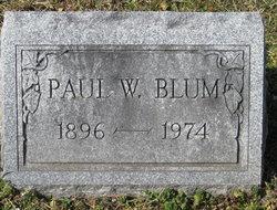 Paul William Blum