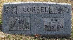 Banner A. Correll