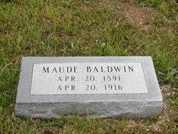 Maude M. <i>Lundy</i> Baldwin