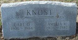 Amelia M <i>Smith</i> Knost