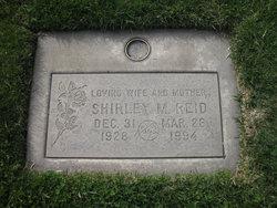 Shirley May <i>Sloan</i> Reid
