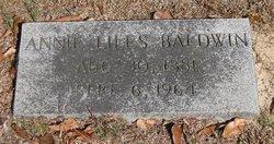 Annie <i>Liles</i> Baldwin
