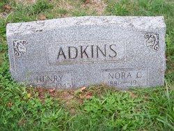 Nora C <i>Waggoner</i> Adkins