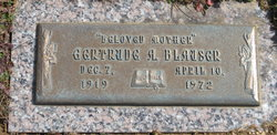 Gertrude A. <i>Ruth</i> Blauser