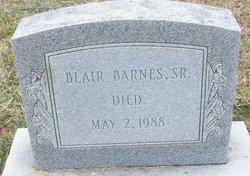 Blair Barnes, Sr