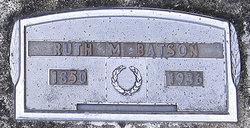 Ruth Margarett <i>Hill</i> Batson
