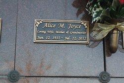 Alice M Joyce