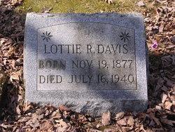 Lottie R Davis