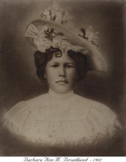 Barbara Ann <i>McFee</i> Broadhead
