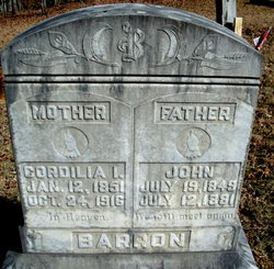 John P Barron