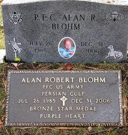 PFC Alan Robert Blohm