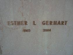 Esther L <i>Wayne</i> Gerhart