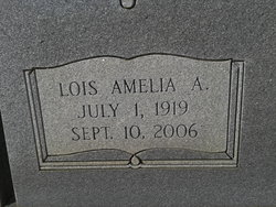 Lois Amelia <i>Alldredge</i> Crispell