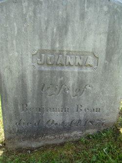 Joanna <i>Folsom</i> Bean