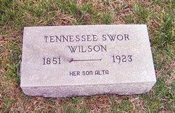 Tennessee Irene Tennie <i>Swor</i> Wilson