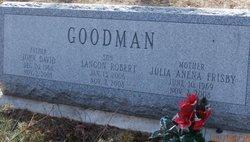 Julia Anena <i>Frisby</i> Goodman