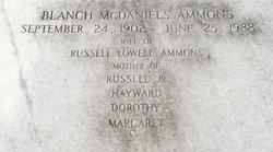 Blanch <i>McDaniels</i> Ammons