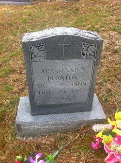 Ada <i>Jenkins</i> Blanton