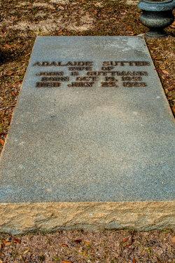 Adelaide <i>Sutter</i> Guttmann
