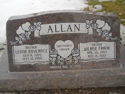 Leona <i>Roylance</i> Allan