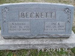 Nadine <i>Endicott</i> Beckett