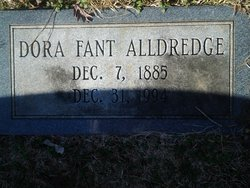 Dora Jane <i>Fant</i> Alldredge
