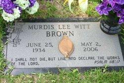 Murdis Lee <i>Witt</i> Brown