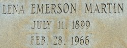 Lena Emerson Martin