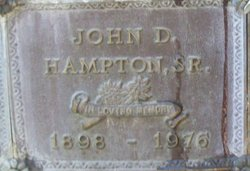 John Dewey Hampton, Sr