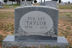 Eva Lee <i>Hammons</i> Taylor