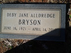 Deby Jane <i>Alldredge</i> Bryson