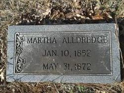 Martha <i>Hood</i> Alldredge