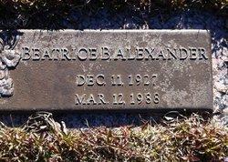 Beatrice <i>Barnette</i> Alexander