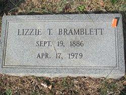 Lizzie M. <i>Thompson</i> Bramblett