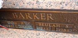 Beulah Mae <i>Souther</i> Barker