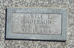 Myrtle E. <i>Mattson</i> Anderson