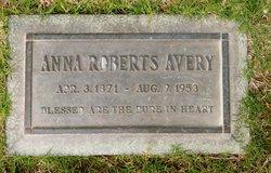 Anna <i>Roberts</i> Avery