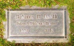 Rebecca M <i>Davis</i> Booth